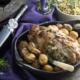 Roti d'agneau farçi