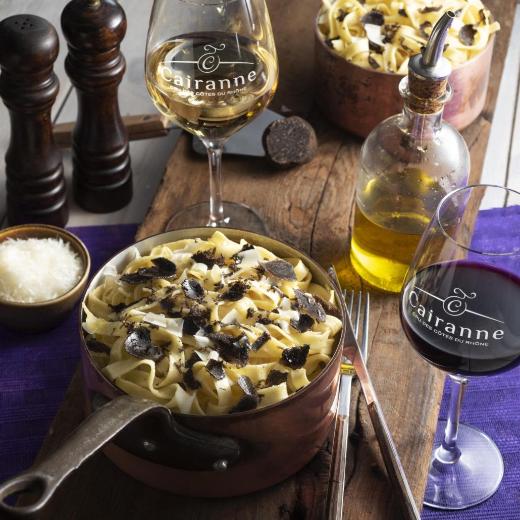 Recettes truffes Vignobles & Compagnie